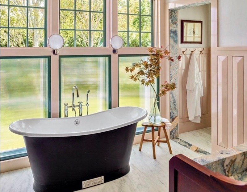 Excellent Furnishing Materials For Urban Bathroom