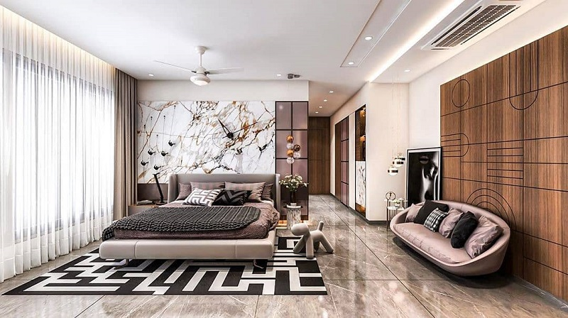 Give Efficient Stylish Look To Partition Wall